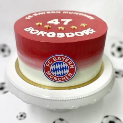 FC Bayern Fussball Torte - Siasse Sach