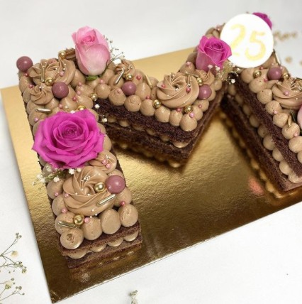 Geburtstagskuchen Numbercakes - Siasse Sach in Anzing